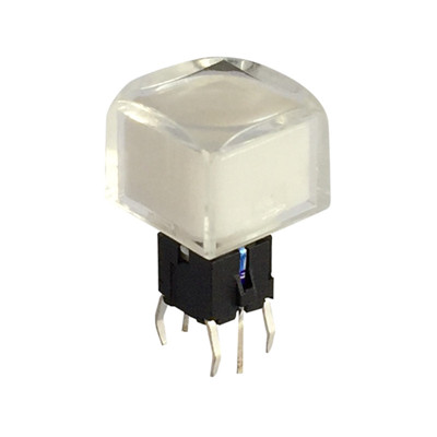 Illuminated Tact Switches For LED Video Processors