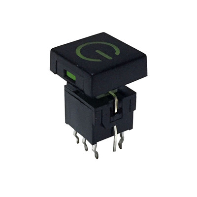 LED On Off Latching Power Button Switch