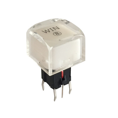 12 Volt SPST Micro PCB Panel  LED Tact Switch