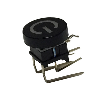 TS17 right angle tact switch with light led