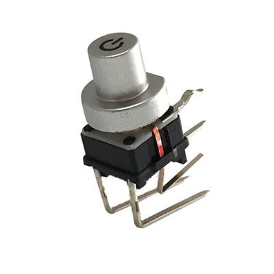Right Angle illuminated tact switch with White LED