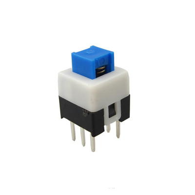 7x7mm Flat Button Vertical Type 6Pin Push Switch