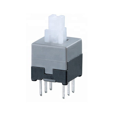 6pin Latch Tactile Push Switch