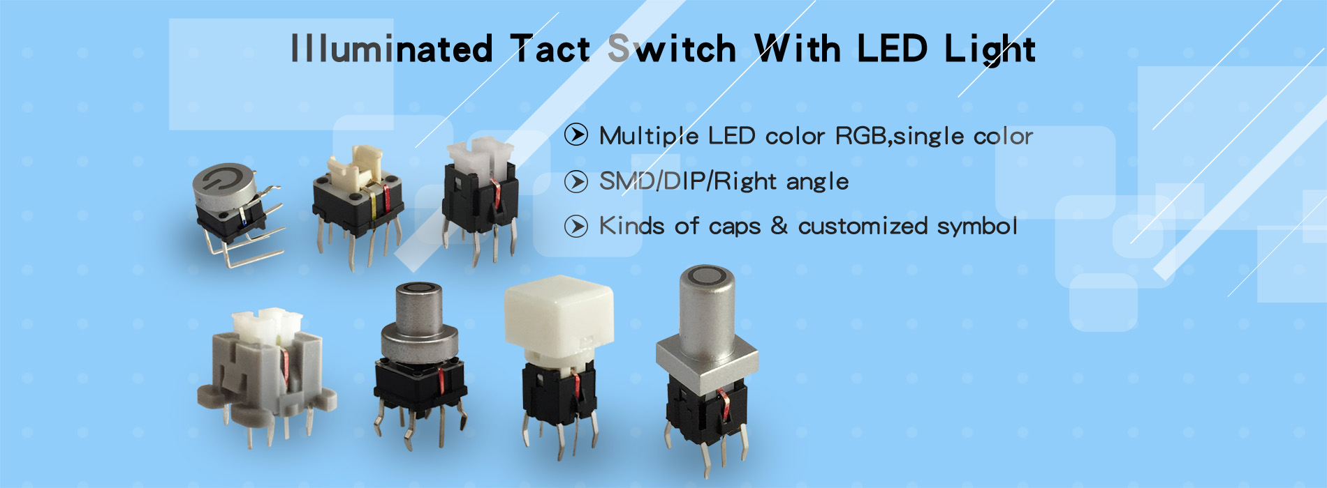led tactile switch